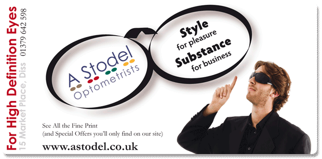 A Stodel Optometrists Advert